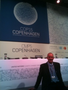 MBB mediator Mark Kirwin, Esq. at COP15 in Copenhagen