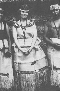 Margaret Mead in Samoa (1925)