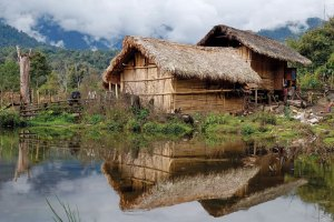 Kachin House in northeast Burma