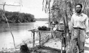 Claude Lévi-Strauss in Amazonia, Brazil