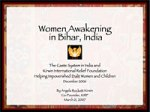 Women Awakening: Women in Rural Bihar