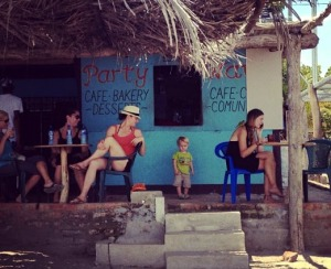 Party Wave in Playa Gigante, Nicaragua Photo: AR Kirwin